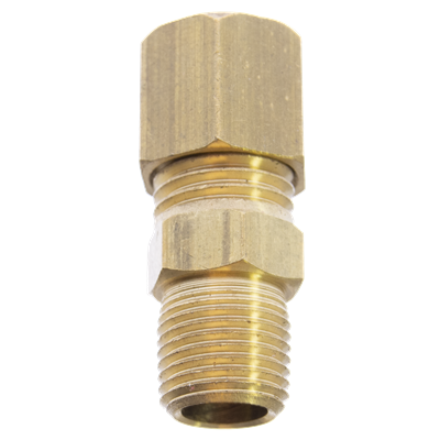 "1/16"" MNPT x 0.040"" OD Brass Fitting"