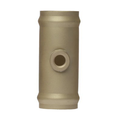 "3/4"" OD x 3"" Brass Hose Coupling"
